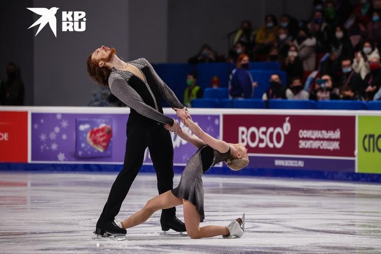 Евгения Тарасова и Владимир Морозов завоевали золото