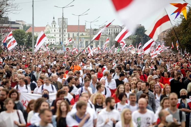 В августе в стране начались многотысячные протесты несогласных с итогами выборов.