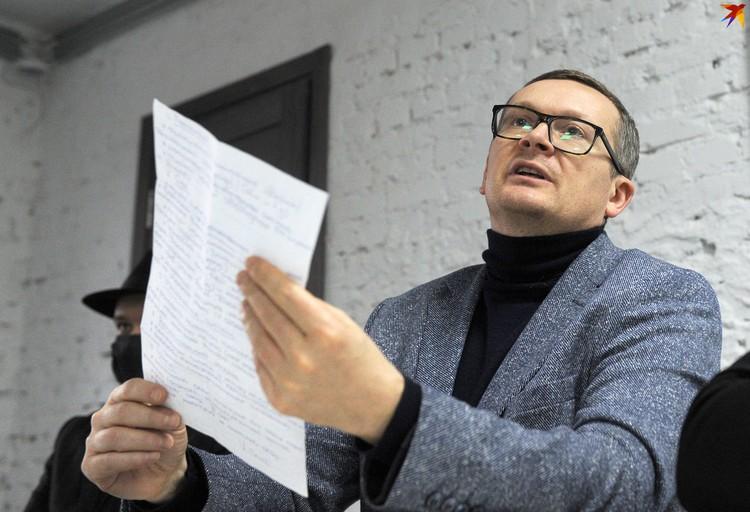 Политолог Юрий Воскресенский.