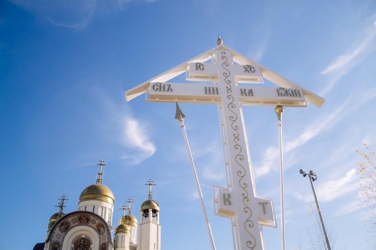 В память о жертвах трагедии установили поклонный крест. Фото: mgn-eparhia.ru
