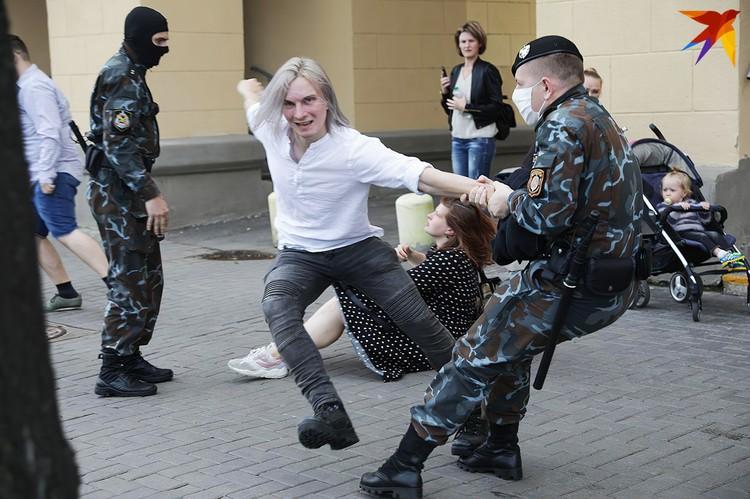 Задержания на Марше студентов 01.09.2020