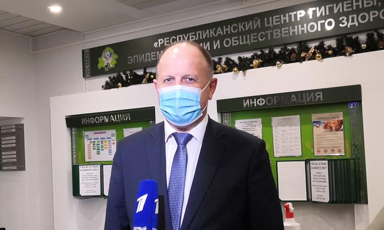 Главный санитарный врач Беларуси поблагодарил российских коллег за поддержку.