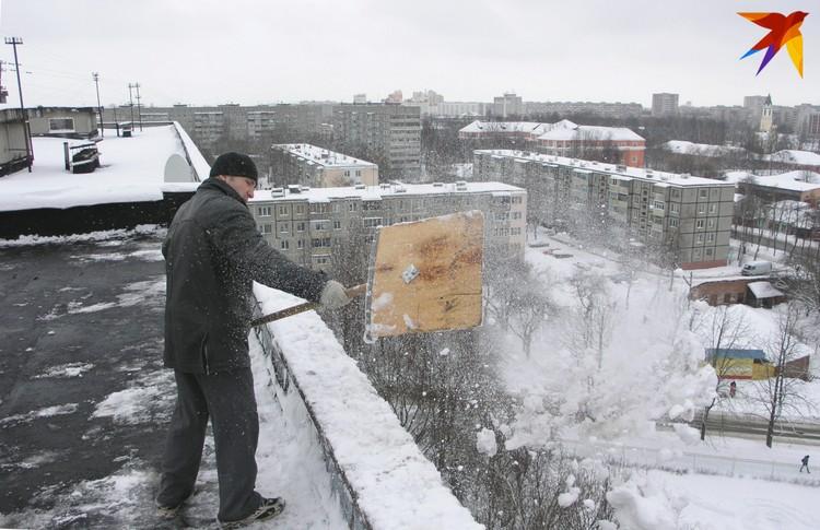 Беларусь завалит снегом в выходные