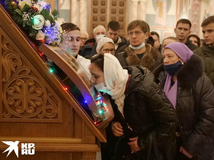 Рождественская служба в Самаре.