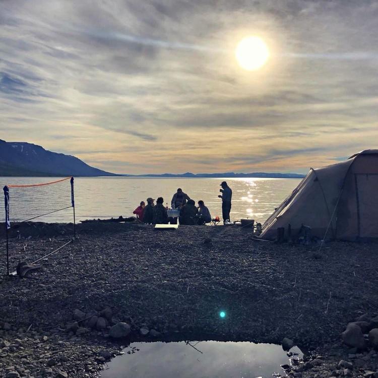 Озеро Лама. Плато Путорана. Туристическая группа Рамиза К.