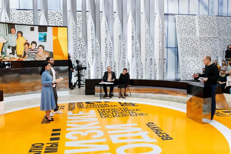 Маргарита будет вести ток-шоу вместе с журналистом, опытным ведущим Леонидом Закошанским. Фото: телеканала «Россия»