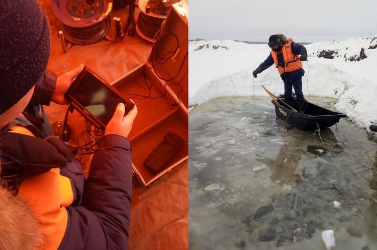 Машина ушла под воду на глубину 15 метров. Фото: АСС НСО
