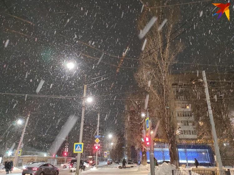 Снег будет идти всю ночь