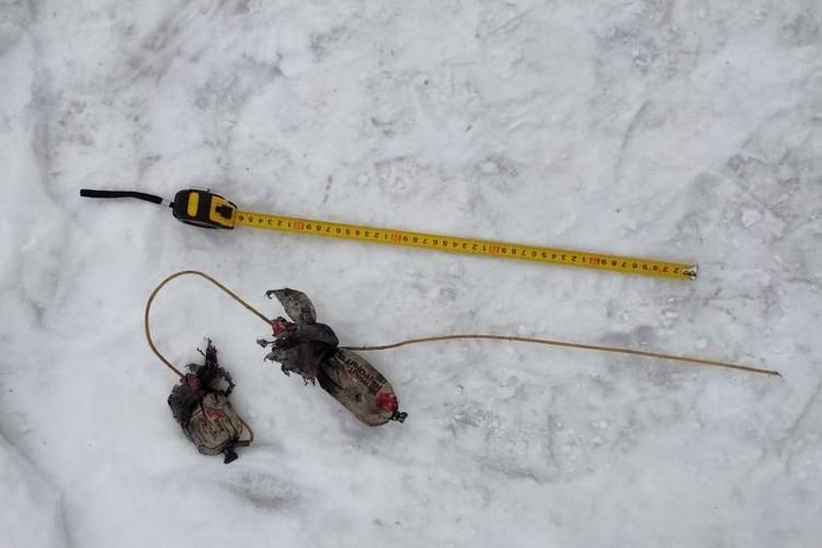 Вероятнее всего, брикеты не взорвались и попали в общую кучу угля. Фото: пресс-служба Управления Росгвардии по Новосибирской области