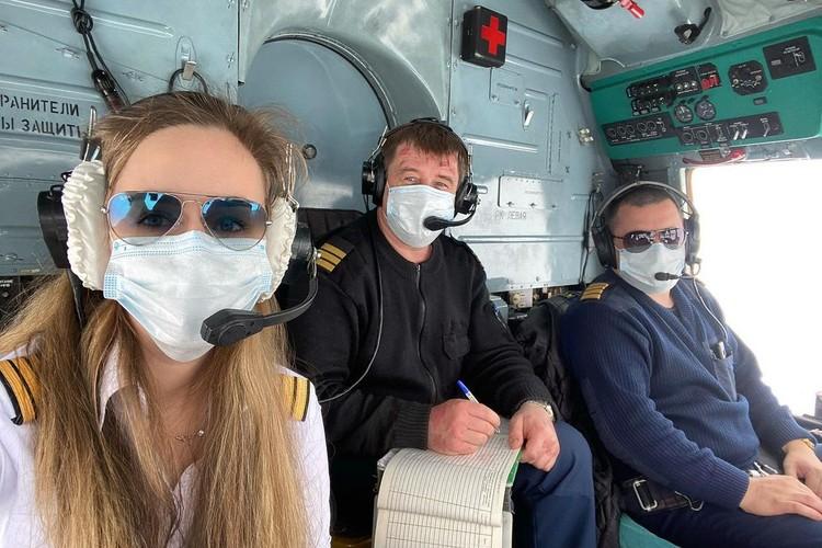 Оба дедушки сибирячки были пилотами — теперь они могли бы гордиться внучкой. Фото: предоставлено Златой Чевердынской