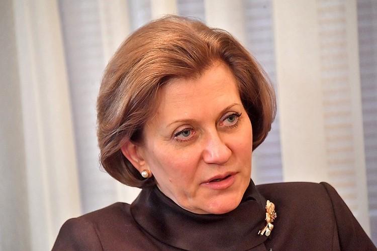 Руководитель Роспотребнадзора, главный санитарный врач России Анна Попова