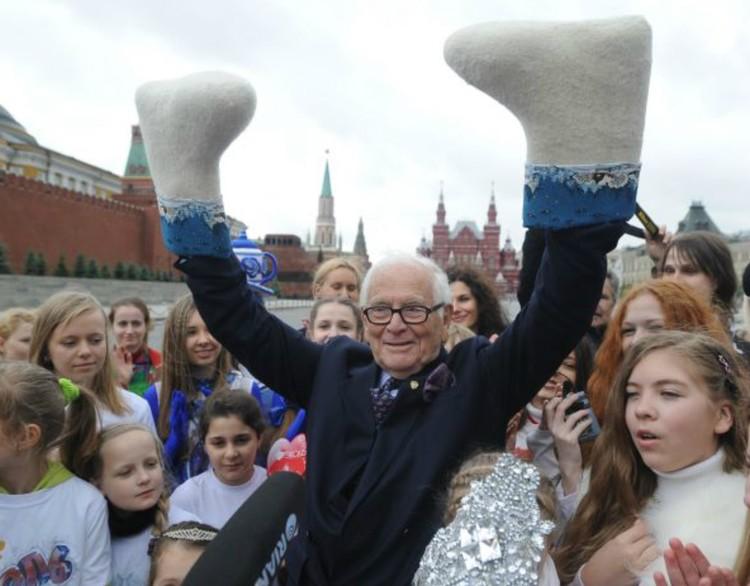 Карден часто бывал в России и очень любил русскую культуру. Фото: Владимир АСТАПКОВИЧ/ТАСС