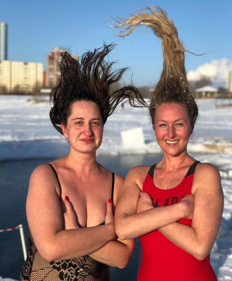 От низких температур даже волосы дыбом встают. Фото: Алла АНИСИМОВА