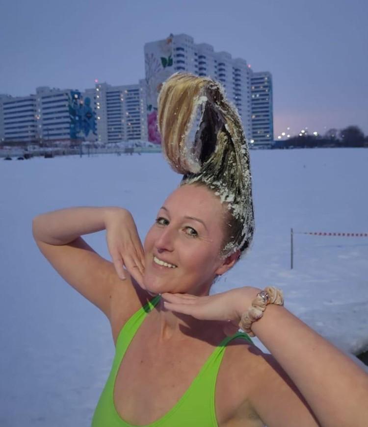 Прическа от стилиста по имени Мороз. Фото: Алла АНИСИМОВА.