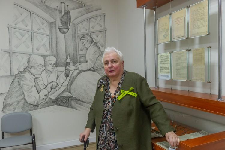 Изучению блокадной медицины Татьяна Голубева посвятила десятки лет жизни.