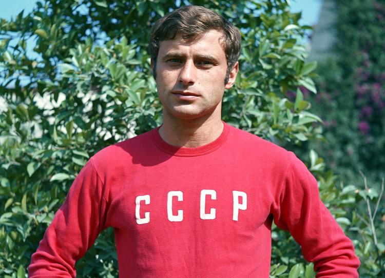 Анатолий Бышовец на тренировке сборной СССР, 1970 г. Фото: ТАСС