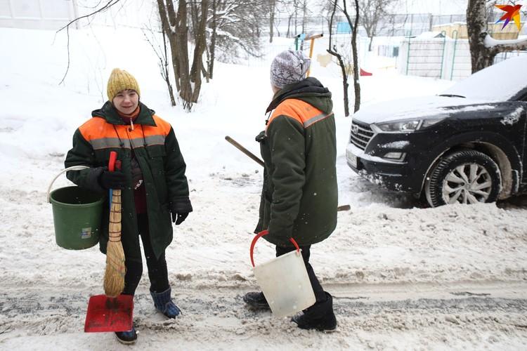"""""""Куда вы несете наши лопаты?"""" - испуганно спрашивали меня работники сферы чистоты городы"""