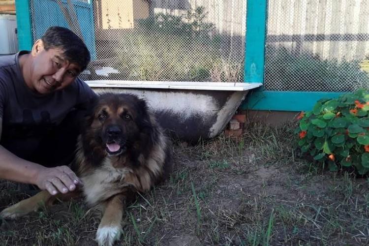 Владислав взял к себе пса, когда тот был еще щенком - вместе они 9 лет. Фото: личный архив.
