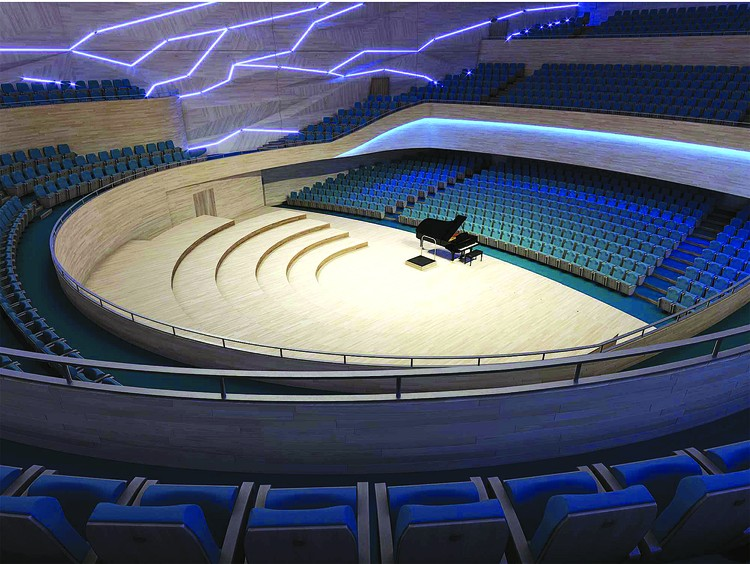 Вот так концертный зал может выглядеть изнутри. Ничто здесь не будет мешать наслаждаться симфонической музыкой! Фото: предоставлено Евгением Третьяковым