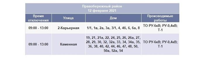 Отключение света в Иркутске 12 февраля 2021: Правобережный район. Фото: ИЭСК