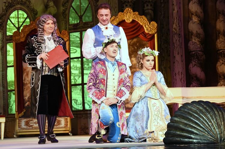 Музыкальный театр Кузбасса приглашает зрителей на музыкальную комедию «Любовь всегда права». Фото: Кадр спектакля.