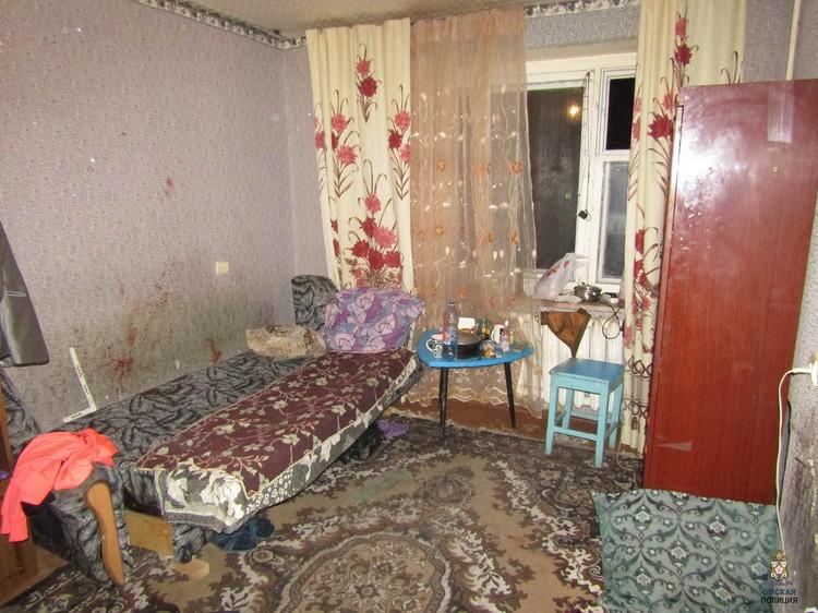 Место преступления. Фото: УМВД России по Омской области