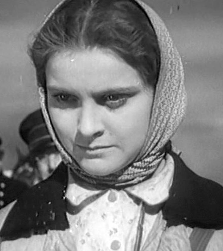 Актриса Татьяна Пилецкая в 1947 году.