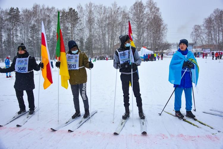 Курсанты прошли на лыжах 5 километров.