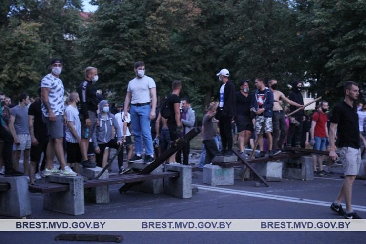 В деле о массовых беспорядках 9-10 августа в Бресте десятки обвиняемых. Фото: БелТА