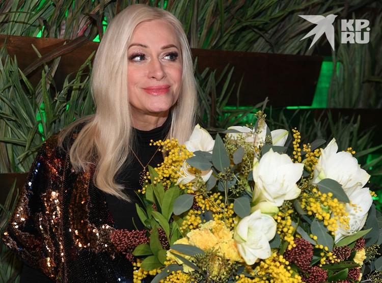 Наталия Гулькина много лет дружит с Сергеем Пенкиным.