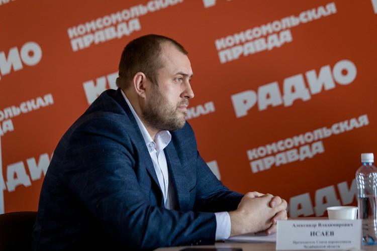 Председатель Союза перевозчиков Челябинской области Александр Исаев