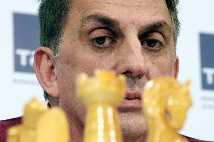 Президент Федерации шахмат Москвы Сергей Лазарев. Фото: Сергей Бобылев/ТАСС