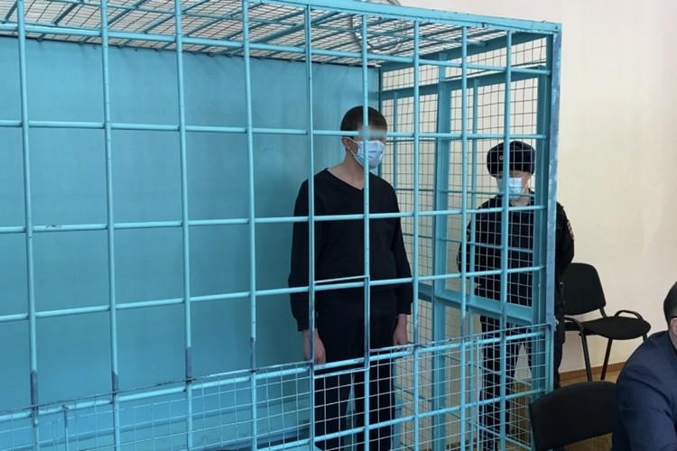 Стрелок в зале суда. Фото: СУ СК России по Забайкалью
