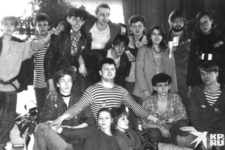 Егор понимал, что производит фурор своими песнями. Фото: личный архив Константина Голодяева