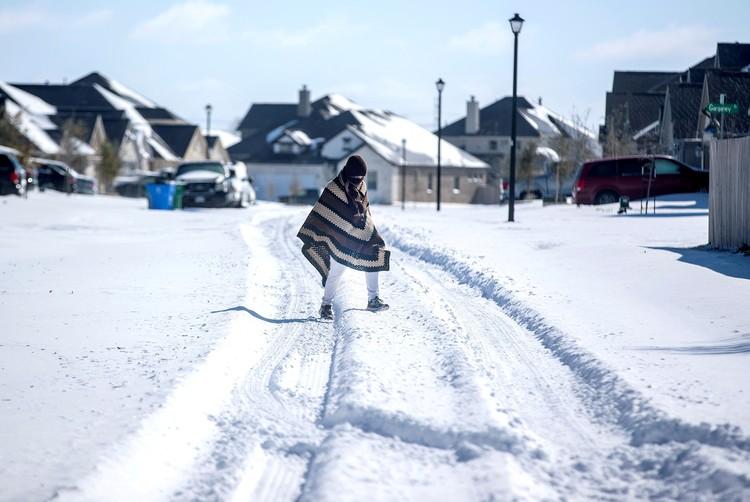Жаркий Техас был вовсе не готов к рекордным морозам.