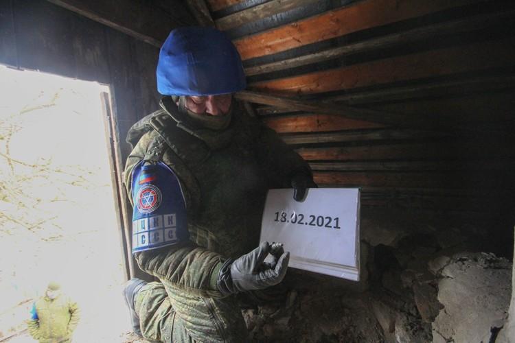 Представительство ДНР в СЦКК фиксирую последствия обстрелов со стороны Украины
