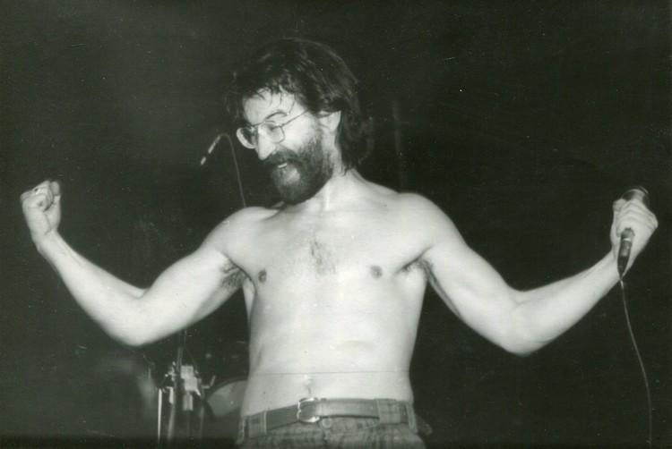 """Лидер группы """"ДДТ"""" Юрий Шевчук в 1987 году. Фото: https://vk.com/ddtclub"""