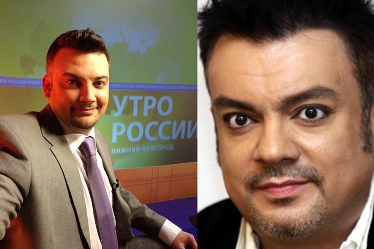 Согласно оценке приложения, Фирстов просто вылитый Филипп Киркоров.