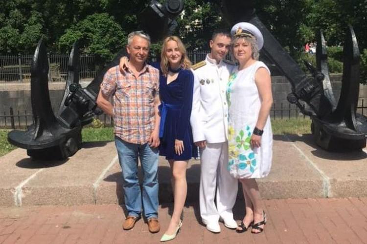 Александр Скорляков со своей семьей. Фото: из личного архива