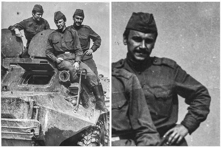 Вадим Качан во время службы в армии. Фото: личный архив