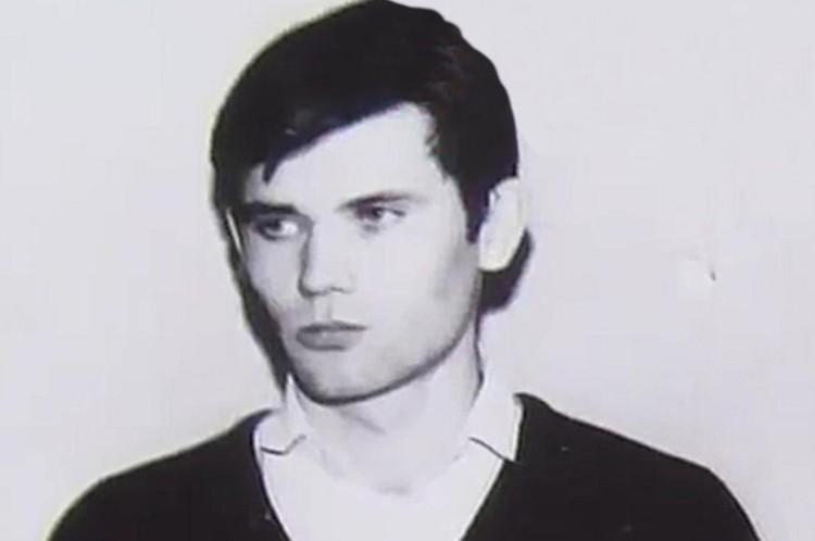 Дмитрий Гридин в молодости