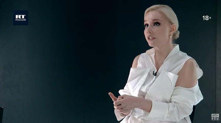Марина Зудина дала откровенное интервью Антону Красовскому для его YouTube-программы «Антонимы». Фото: кадр видео.