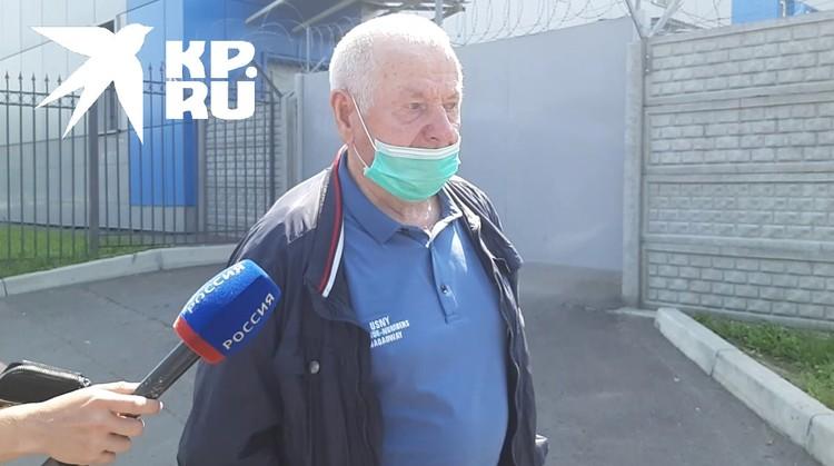 Отец погибшего Дмитрия Сисигина