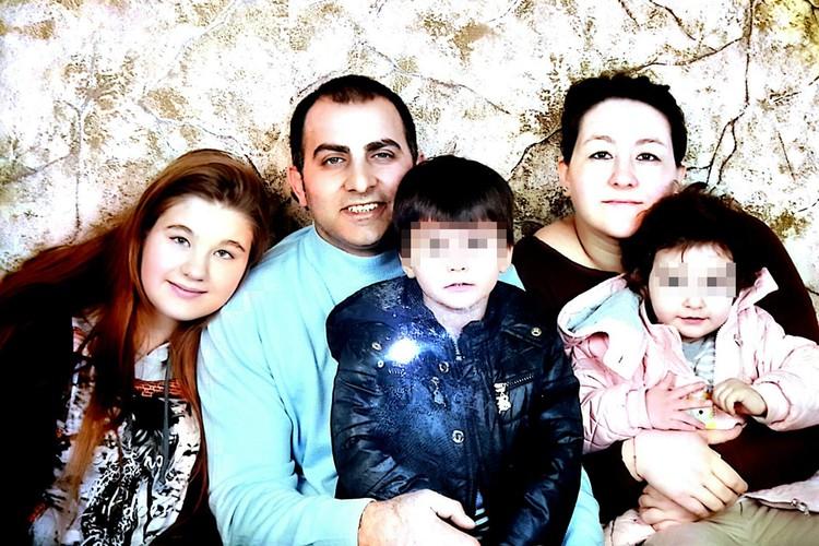 Катя, Кенан и дети
