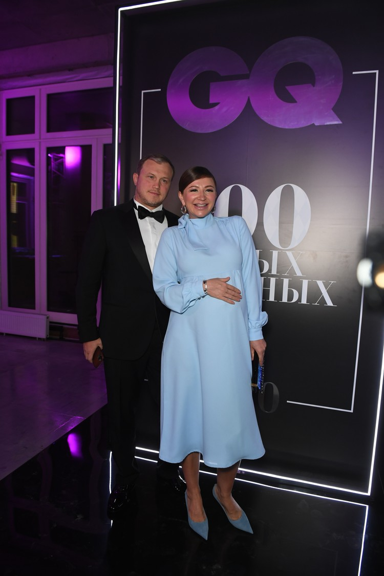 Ресторатор Алексей Блиновский и Елена