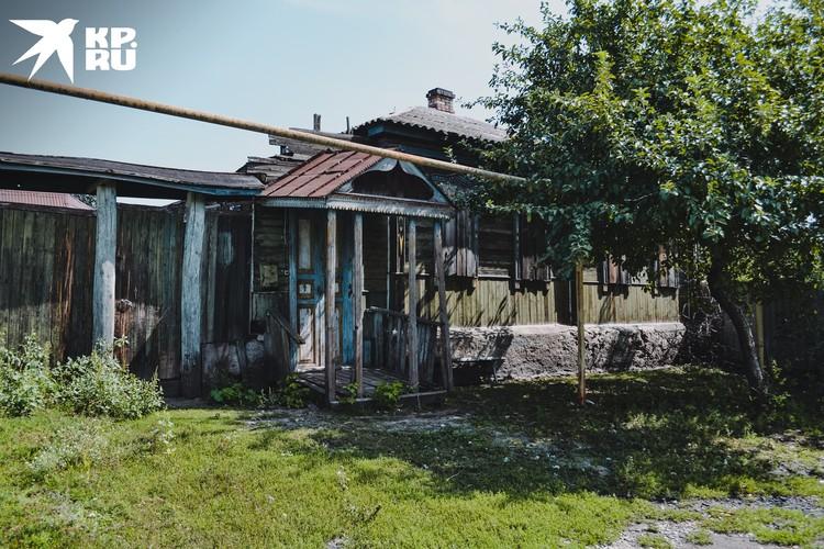 Дом, в котором сейчас живет Ретунский.