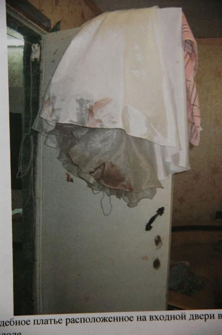 Свадебное платье теперь проходит как вещдок по делу.