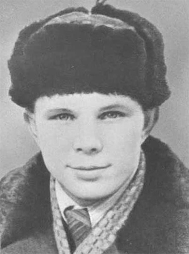 Юрий Гагарин в период учебы в ремесленном училище в г. Люберцы. (Фото из фондов РГАНТД)