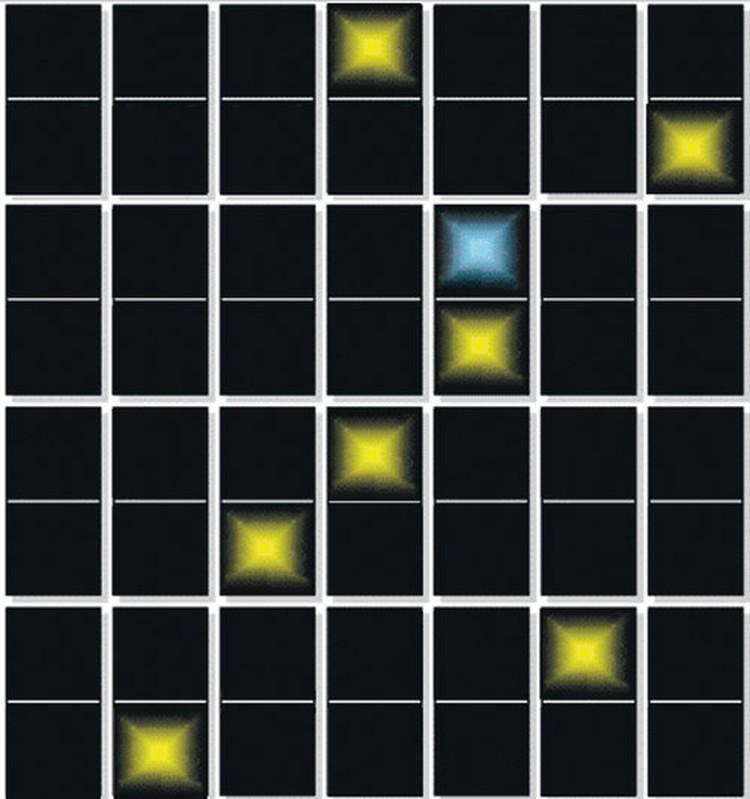 При расшифровке Пахомов обнаружил в матрице календарного послания изображение созвездия Ориона.  Он считает, что именно  из района звезды Минтака прилетали  на Землю представители иного разума.