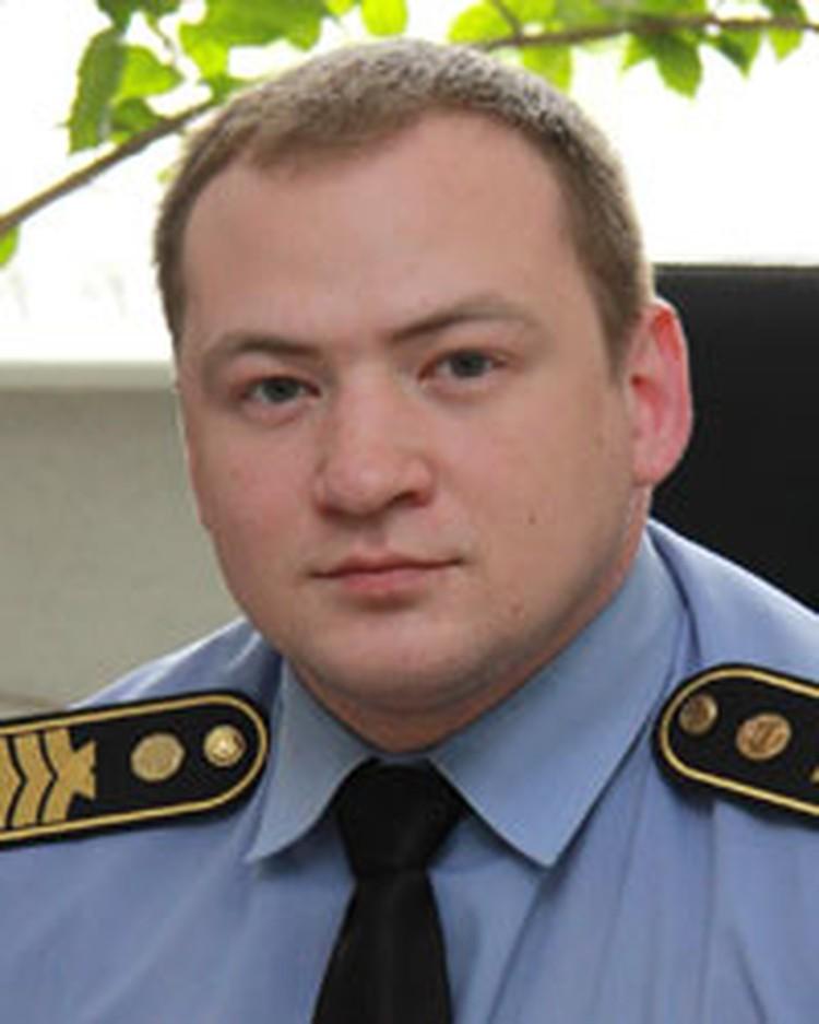 Старший судебный исполнитель суда Октябрьского района Андрей КАМУШКИН